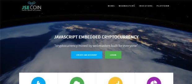 Новая криптовалюта JSEcoin: майнинг в браузере
